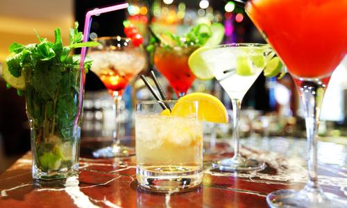 CityGames Berlin: Cocktails zum Start der Party