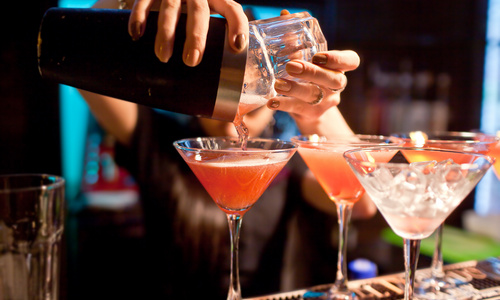 CityGames Berlin: Ein Cocktail zum Start des Teamevents