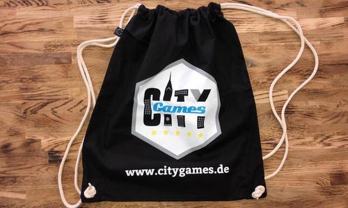 CityGames Berlin: Unser Rucksack